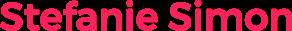 Stefanie Simon – Offizielle Homepage Logo